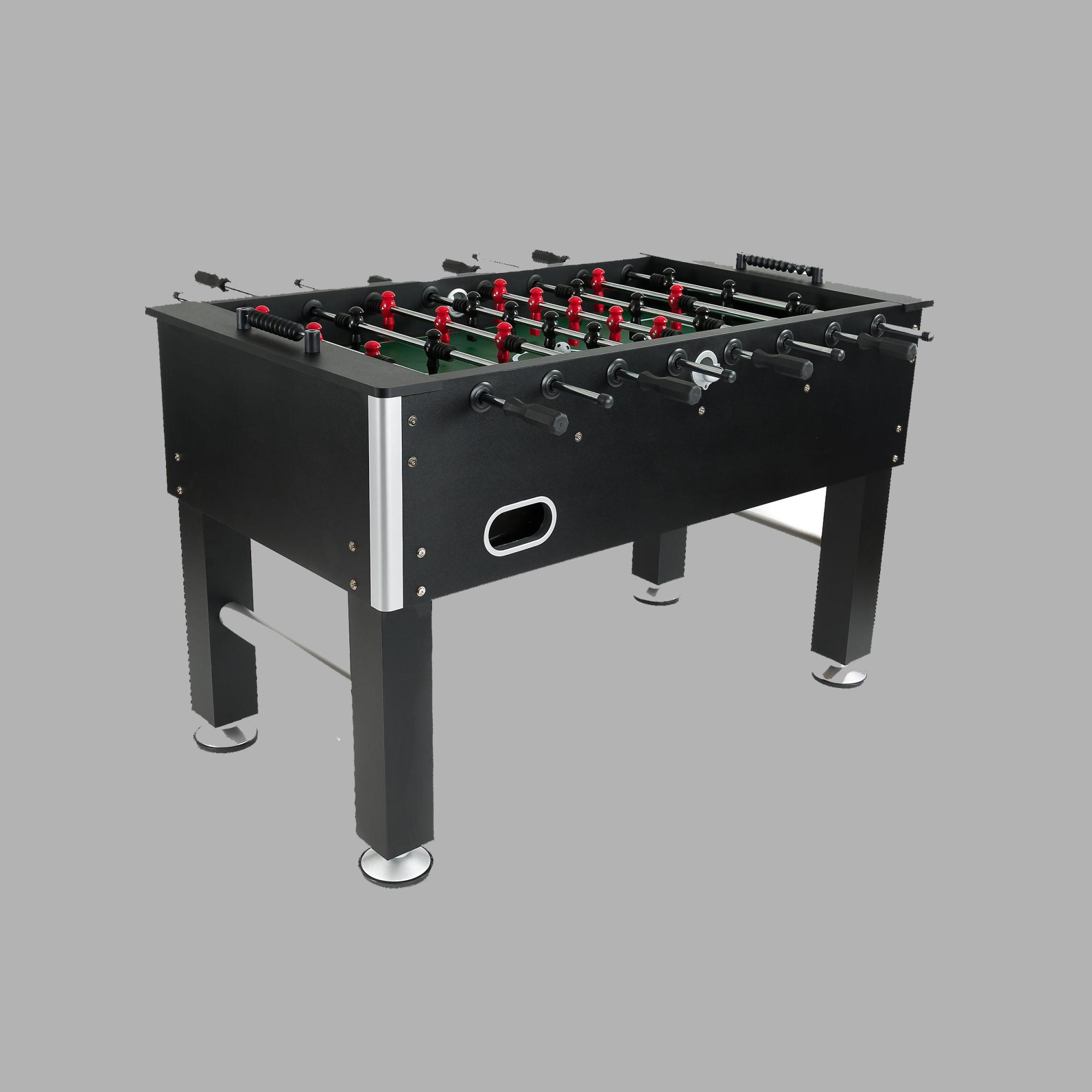 The Presidential Bolt Foosball Is Designed For Serious Player With Its Sleek Black Finish This Regulation Size Table Has All Qualities